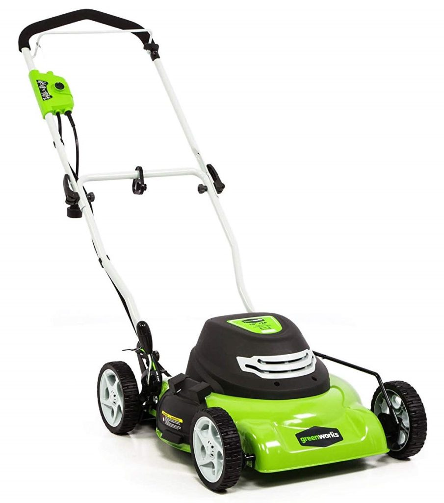 Greenworks 18 inches Corded Electric Lawn Mower