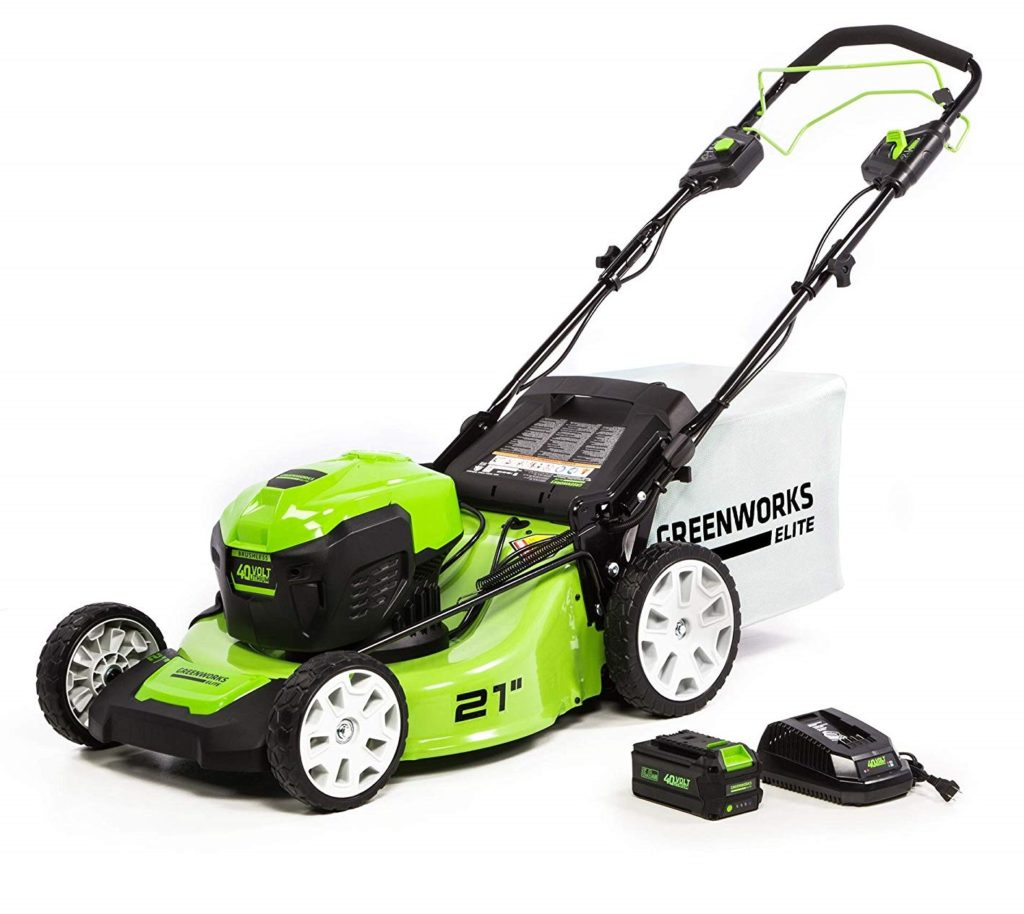 Greenworks 40V 21-Inch Self-Propelled Lawn Mower