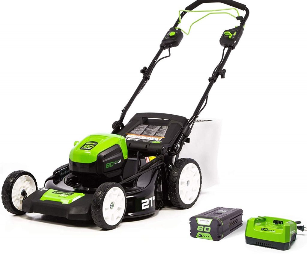 Greenworks 80V 21-Inch Self-Propelled Lawn Mower