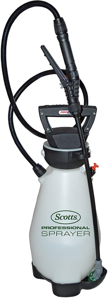 Scotts Battery Powered 2 Gallon Garden Sprayer