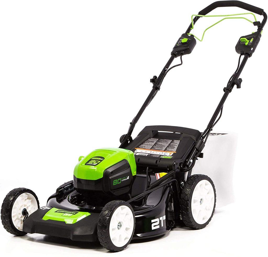 Greenworks PRO 21-Inch Self-Propelled Lawn Mower