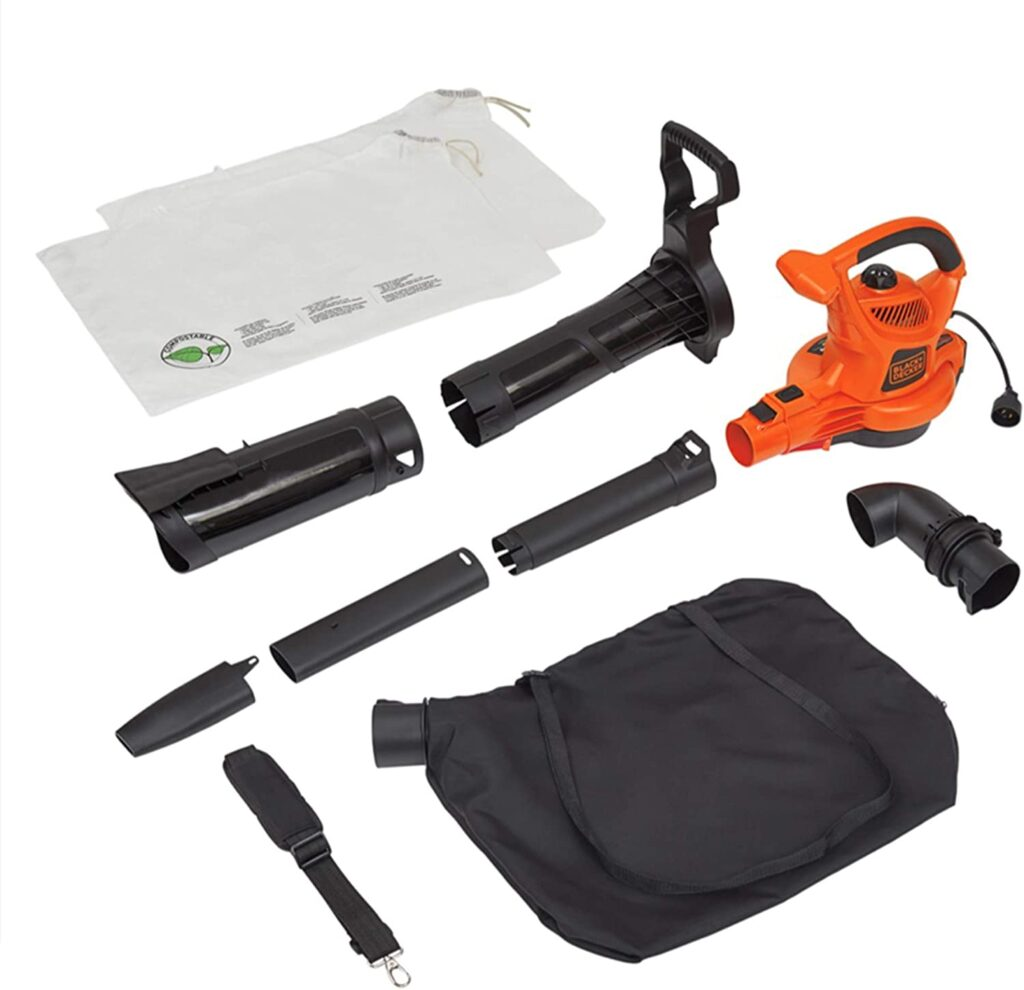 BLACK+DECKER Lawn Vacuum and Blower