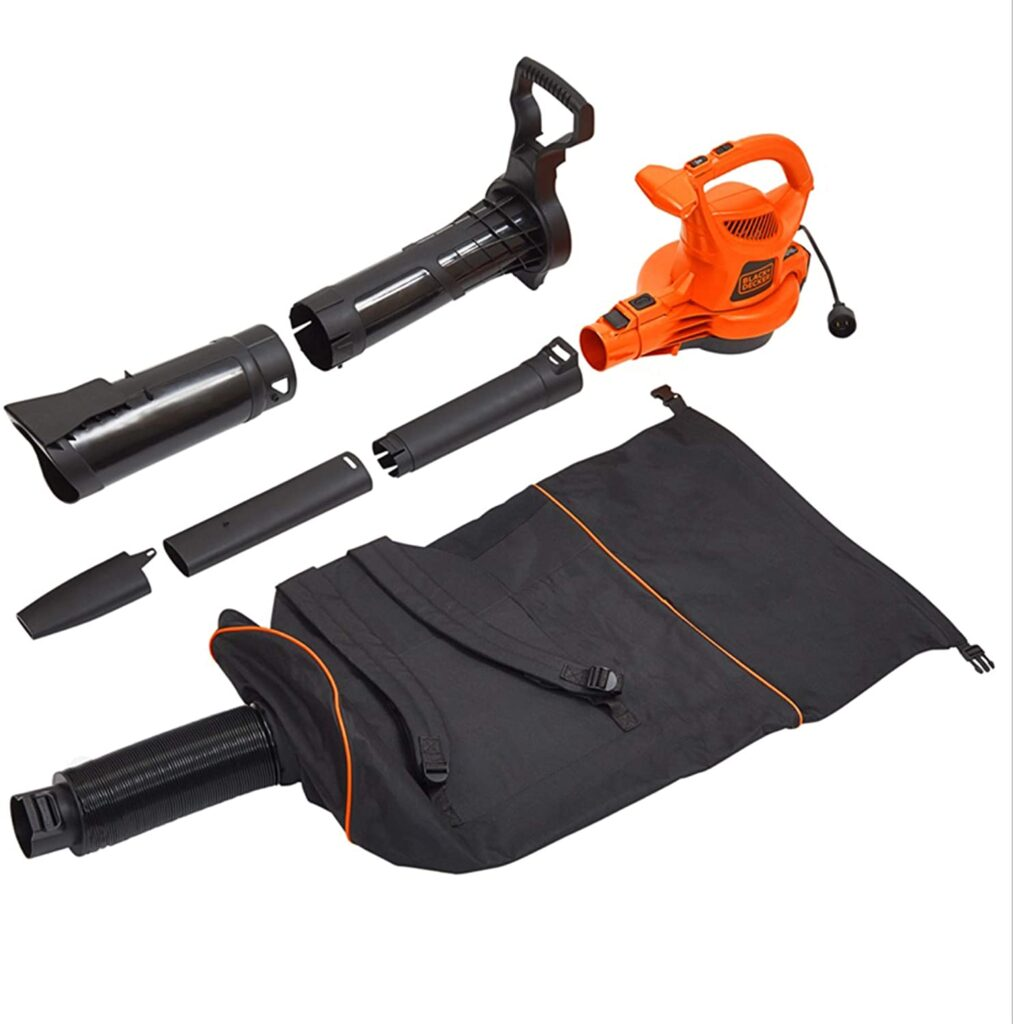 BLACK+DECKER Lawn Vacuum with Bag