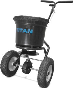 Titan 50 Pounds Lawn Spreader